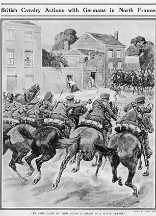 AY5G3B Wwi 1914 Cavalry Fight