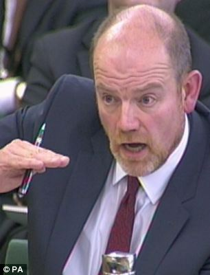 Defensive: Former Director-General Mark Thompson said he increased the pauout to Mark Buford by almost £500,000 to keep him focused on his job