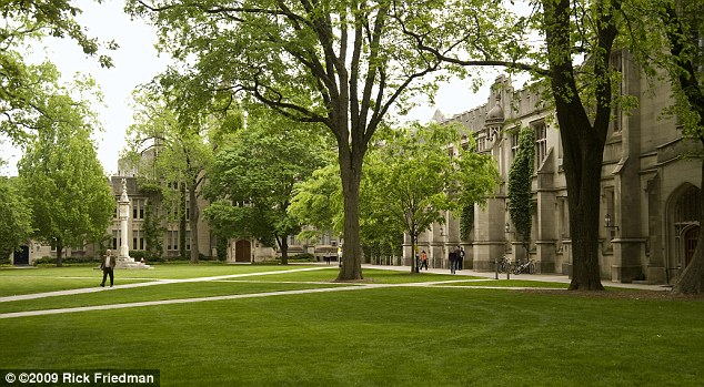 Good value: Princeton has a 'no loan' policy for financially needy students which gives them grants instead to pay for tuition