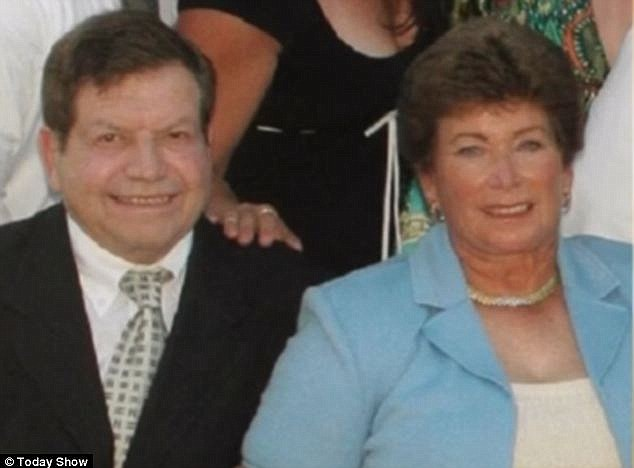 Death: Her husband Alan, 80, passed away at their home in April and police now say there is not enough evidence to charge his wife. She was initially suspected of bludgeoning him to death with a mug