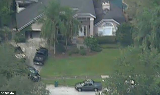 Scene: Police were called to a home in Lake Mary owned by Shellie parents. She and Zimmerman lived there throughout the trial and she had been collecting belongings when the argument began