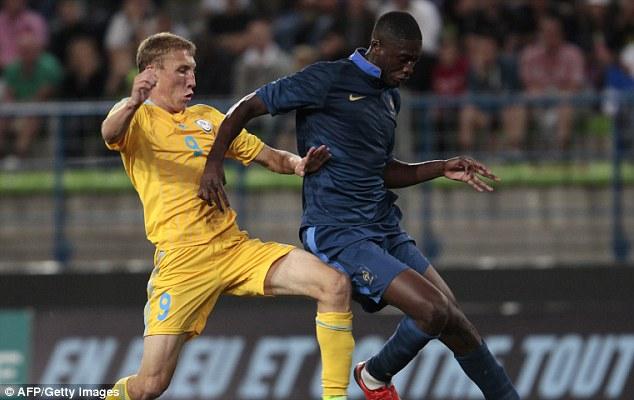 Blow: Yaya Sanogo injured himself on international duty with the France Under 21's