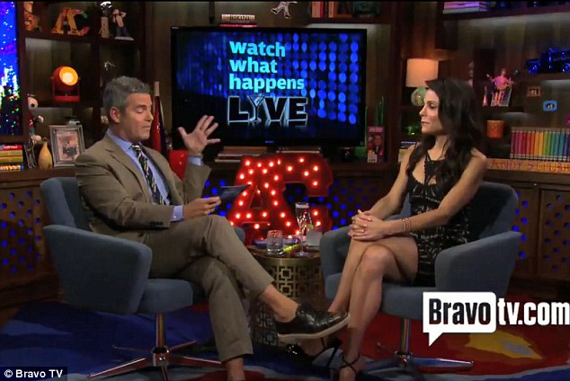 Bravo sit-down: Andy Cohen then asked if the estranged couple were still living in the 42-year-old's lavish 3,400-square-foot Tribeca loft