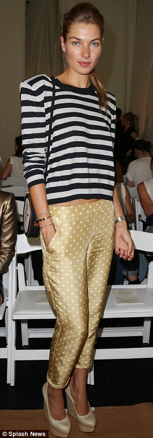 Celebrities attend the Sass & Bide show for Mercedes-Benz Fashion Week in New York