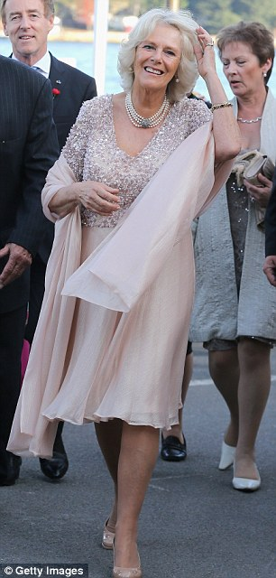 Battle of the glam-mas: Carole, 58, may be younger than Camilla, 66, but both exude their own sense of style