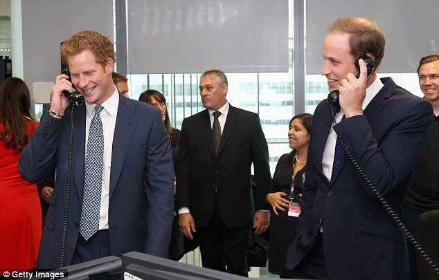 Prince William and Prince Harry helped negotiate huge deals - including a company record worth ¿25 billion