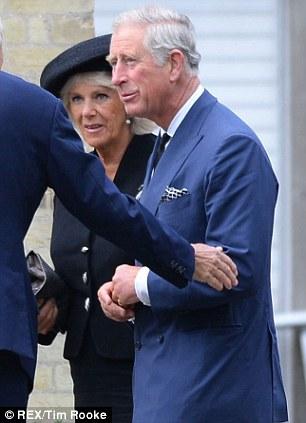 Camilla Duchess of Cornwall and Prince Charles