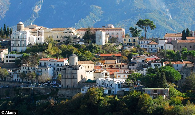 Beautiful but bendy: The acient village of Ravello on the Amalfi Coast, Italy, has many a tough winding road