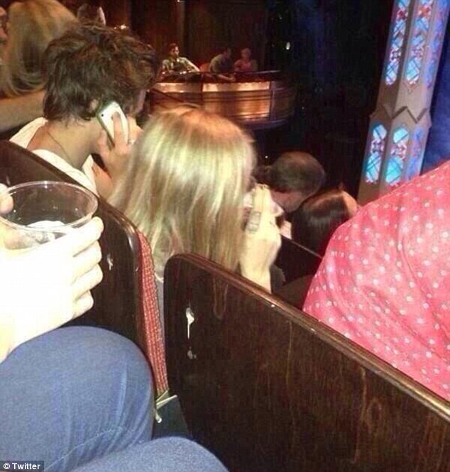 Date night: Harry Styles and Cara Delevingne were spotted watching Book Of Mormon together last week