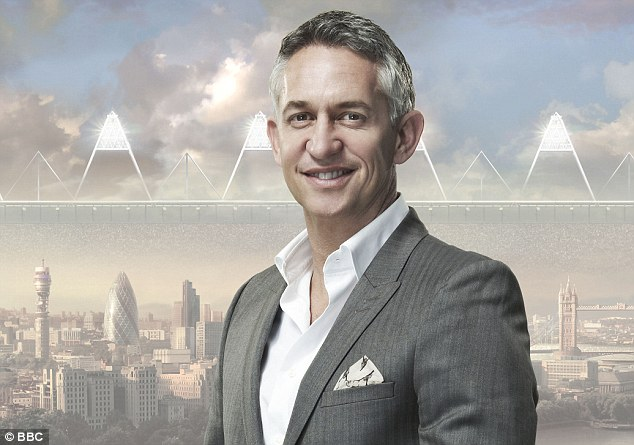 Helping hand: Former England captain Gary Lineker is will to sit on Greg Dyke's commission