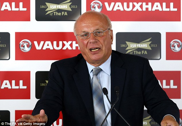 Big speech: FA Chairman Greg Dyke will head a commission to try and save English football