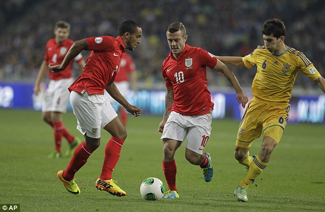 Work to do: Lineker described England's performance against Ukraine as 'awful' but insisted he was behind Roy Hodgson