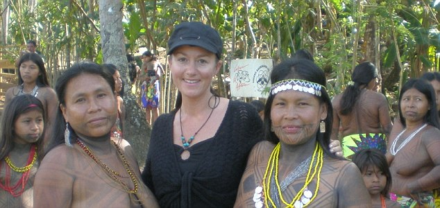 Fooled: Sarah Woods wanted to help people in the Amazon but one trip she took was not as it seemed