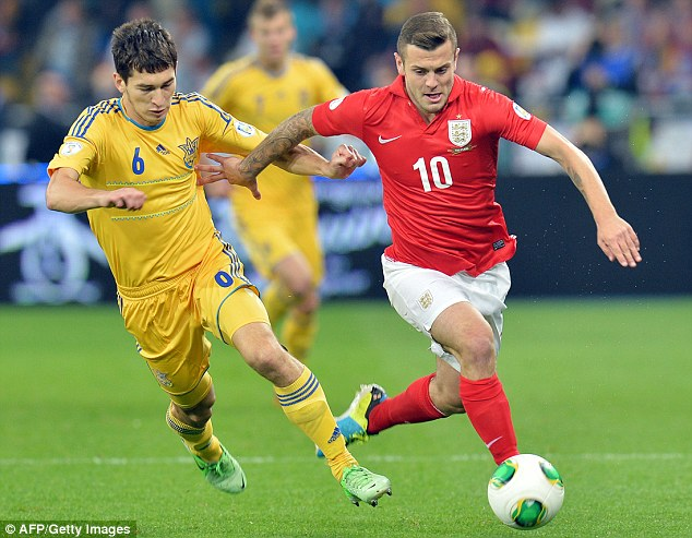 Frustrating night: But Jack Wilshere remains a world-class talent