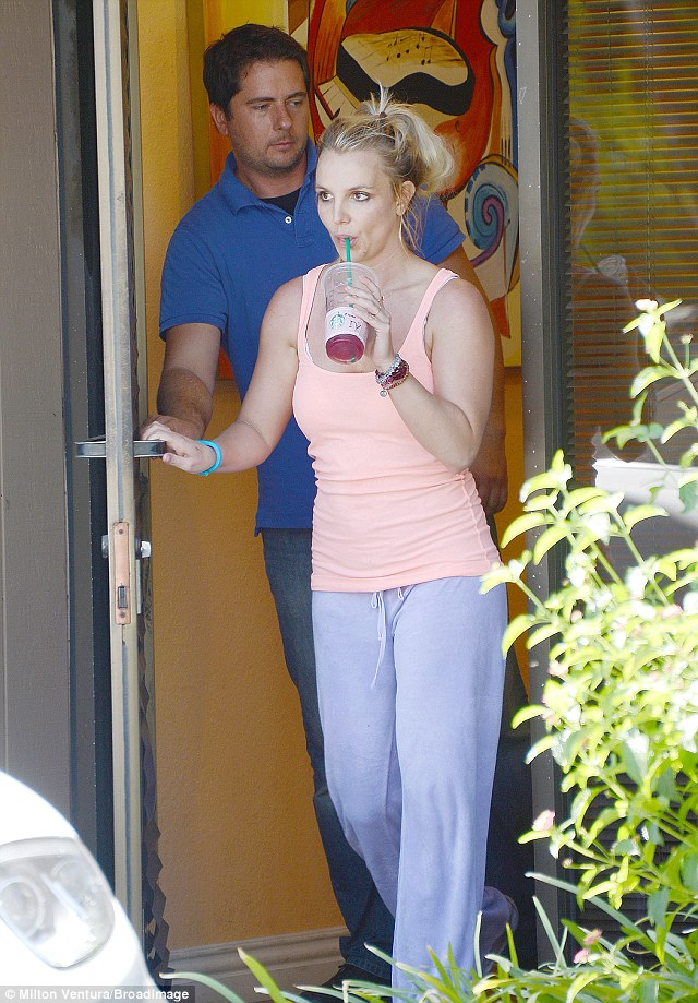 Typical Spears: The Toxic singer is usually seen in sweatpants around town