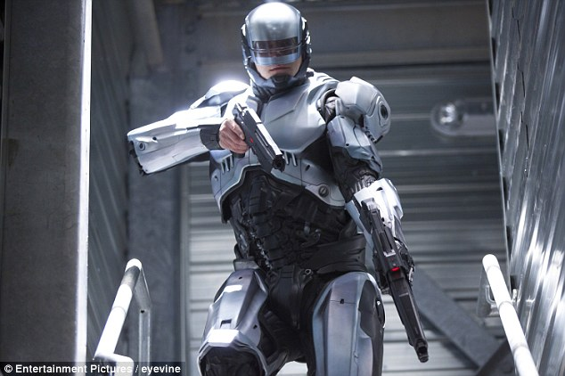 Joel Kinnaman plays RoboCop in a remake of the 1987 original