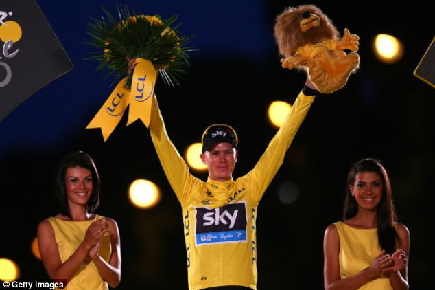 Controversy: Wiggins felt Froome hadn't stuck to the team's tactics