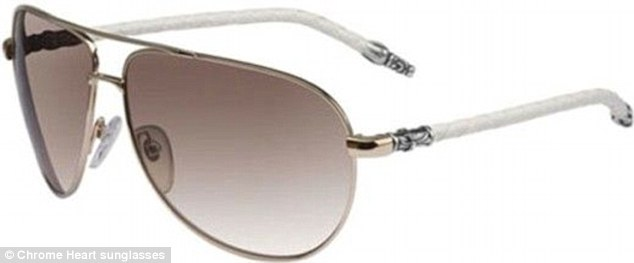 Shade: £552 is a lot to pay to keep the sun out of your eyes, but Chrome Heart Sunglasses make it worth it