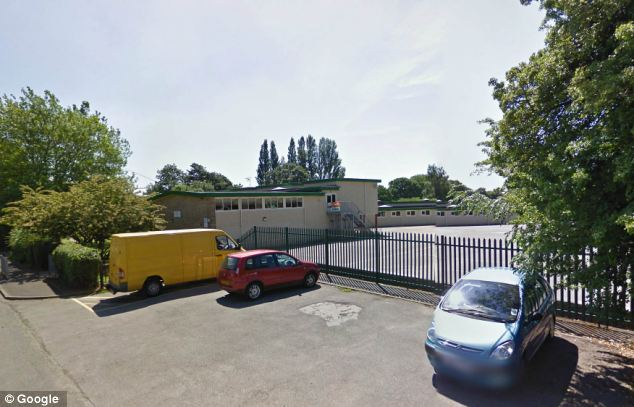 The confrontation took place at Holmgate Primary and Nursery School (pictured)