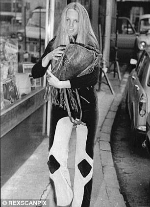 Dancer Terri Robinson, George Best's new girlfriend