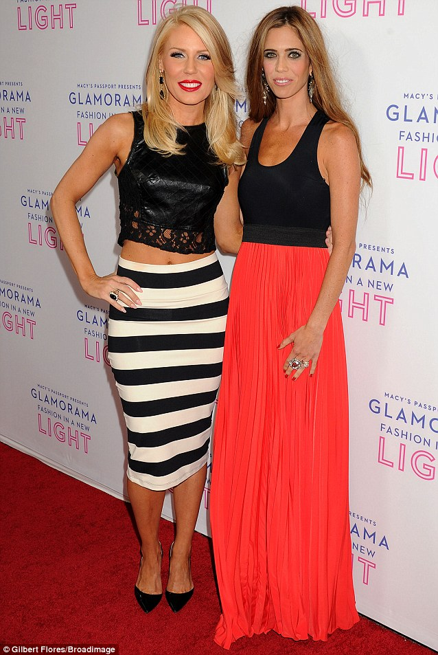 Bravo stars: The Real Housewives Of Orange County's Gretchen Rossi and Lydia McLaughlin attended the fundraiser