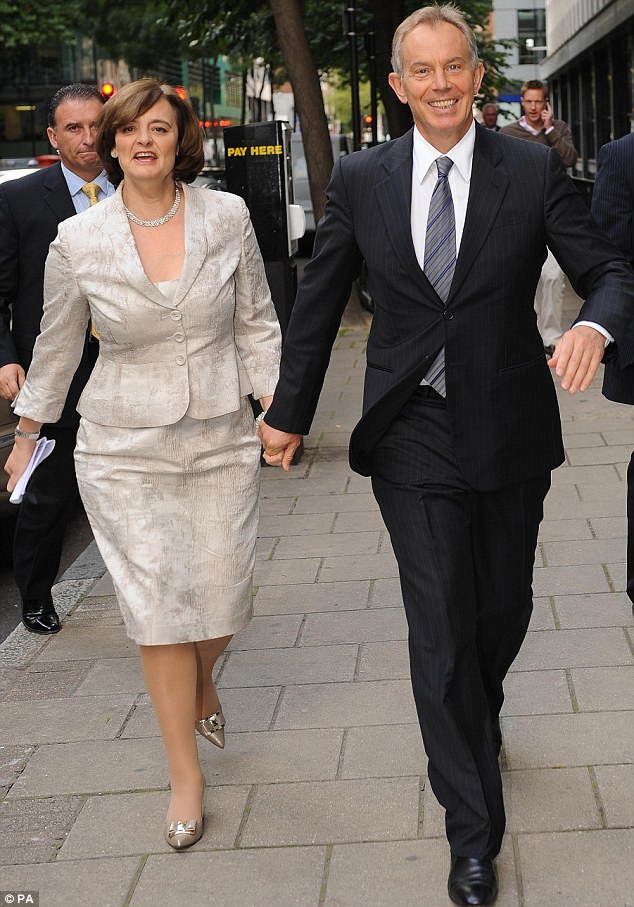 Wedding: Tony and Cherie Blair's son Euan is marrying Suzanne Ashman and the party afterwards is taking place at the family mansion in Wotton Underwood, Buckinghamshire