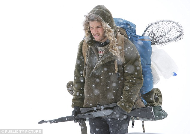 The book was also made into a movie in 2007, Into The Wild, starring Emile Hirsch (pictured)