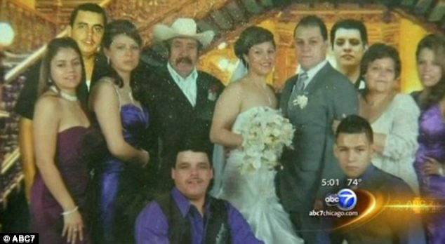 Loving family: Mora was a father of 12 and a grandfather of 23. He supported his family partly by collecting aluminum cans