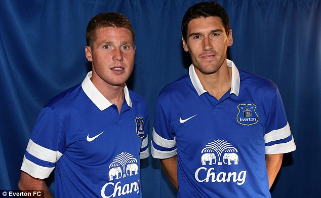Stiff opposition? Everton signed both James McCarthy and Gareth Barry in the transfer window