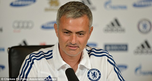 Focused: Jose Mourinho will be keen for Chelsea to continue their promising start to the season