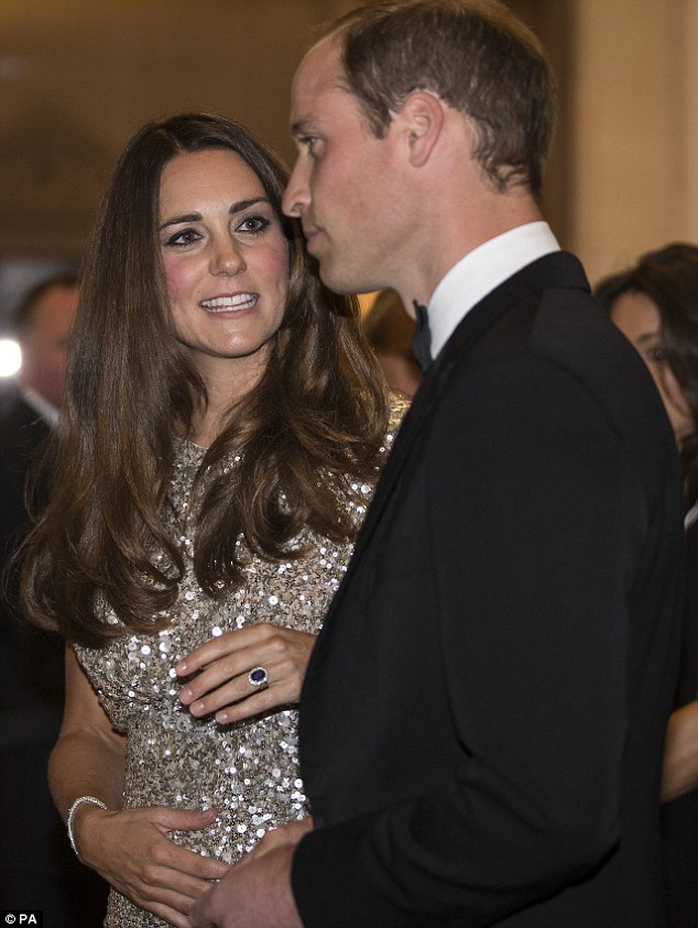 Takes after them both: Kate revealed their son looks like a mix of his parents