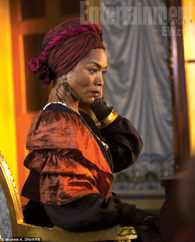 Black magic woman: Angela Bassett is the newest cast member of American Horror Story: Coven