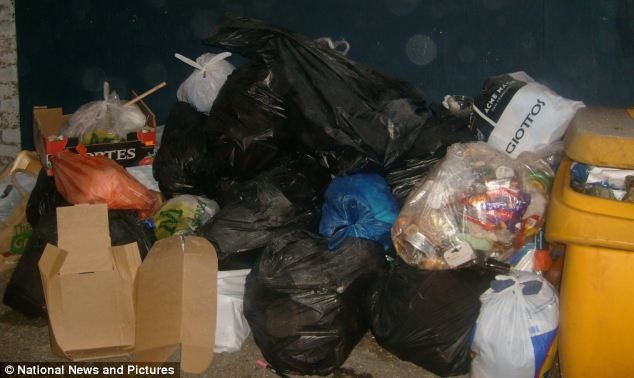 The squatters keep locals up all night by playing bongo drums and dump piles of rubbish in their street in Streatham, south London