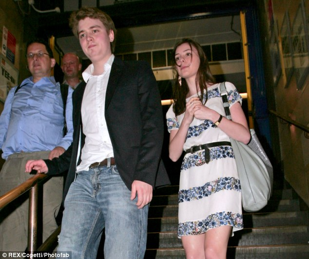 Excluding: Euan and Suzanne, pictured in 2009, has allegedly banned the bride's step-mother Sian Lloyd from Saturday's nuptials