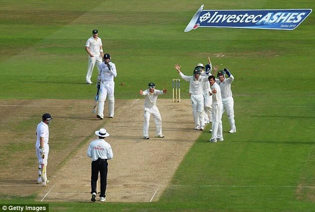 Dubious: The Ashes series featured a number of controversial umpiring decisions