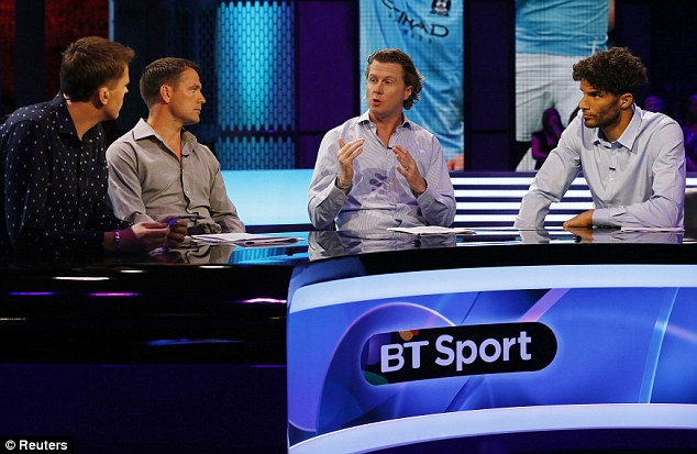 TV war: BT Sport have acquired the rights to 38 live Premier League matches this season