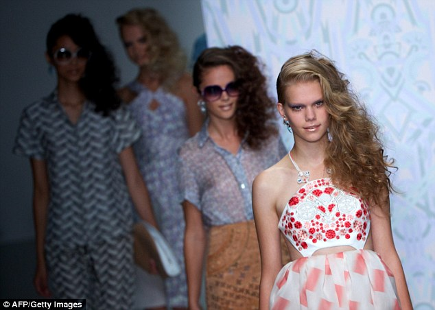 Sights of the 70s: Holly Fulton unveiled a thoroughly pretty version of the 1970s during her LFW show