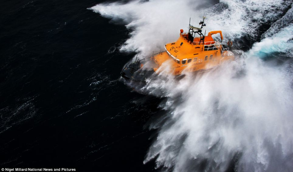 Penlee's Severn class lifeboat Ivan Ellen. The £1.8m boat was a gift to the RNLI in 2003 from Harold Ivan Ellen, the father of a former worker