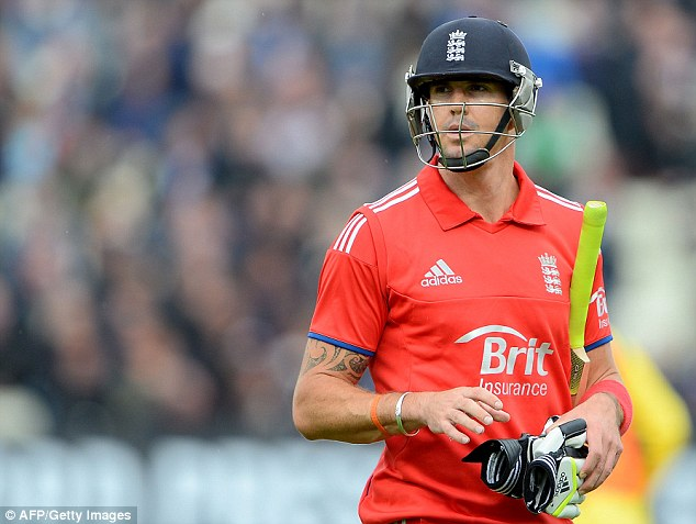 Big hitter: Kevin Pietersen will again be key if England are to level the best-of-five one-day series at Cardiff