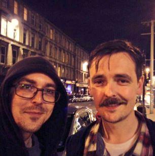 Declan Dineen tweets pictures with people he met online via social media website twitter.