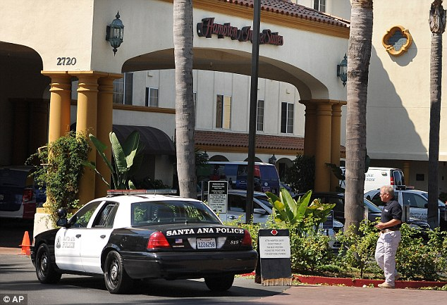 Shocking: One hotel guest called the killings 'horrendous' and 'a heartbreaker'