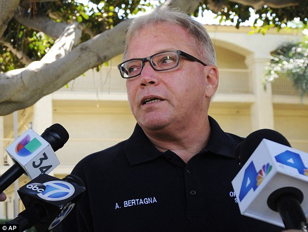 Awful: The woman told cops where her children were after multiple failed suicide attempts, according to Santa Ana Police spokesperson Anthony Bertagna
