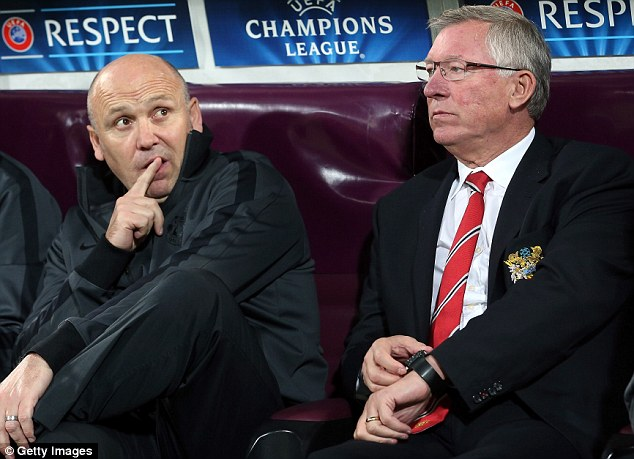 On his own: Mike Phelan wants to become a manager after learning from Sir Alex Ferguson