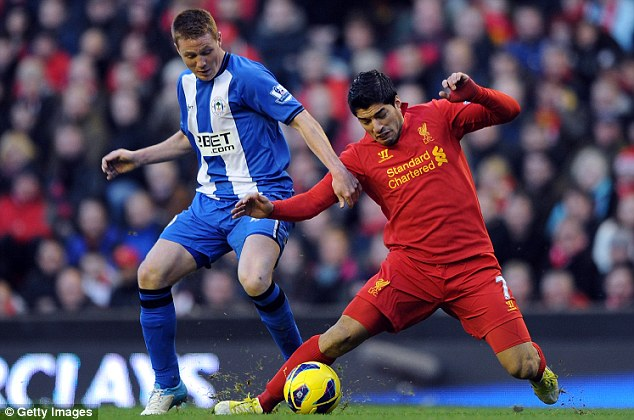 Broken promise: Luis Suarez still thinks he should have been allowed to leave Liverpool