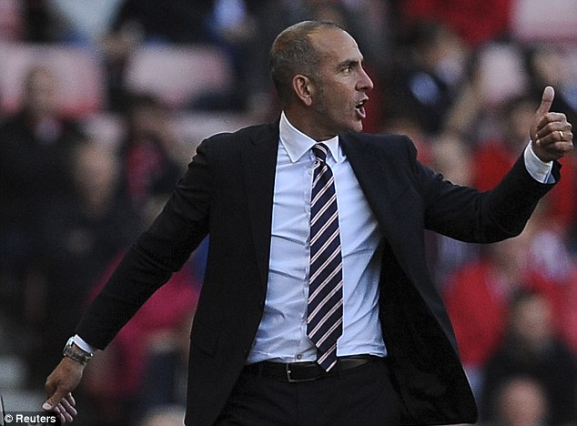Ticking timebomb: Paolo Di Canio is a volatile character at the best of times