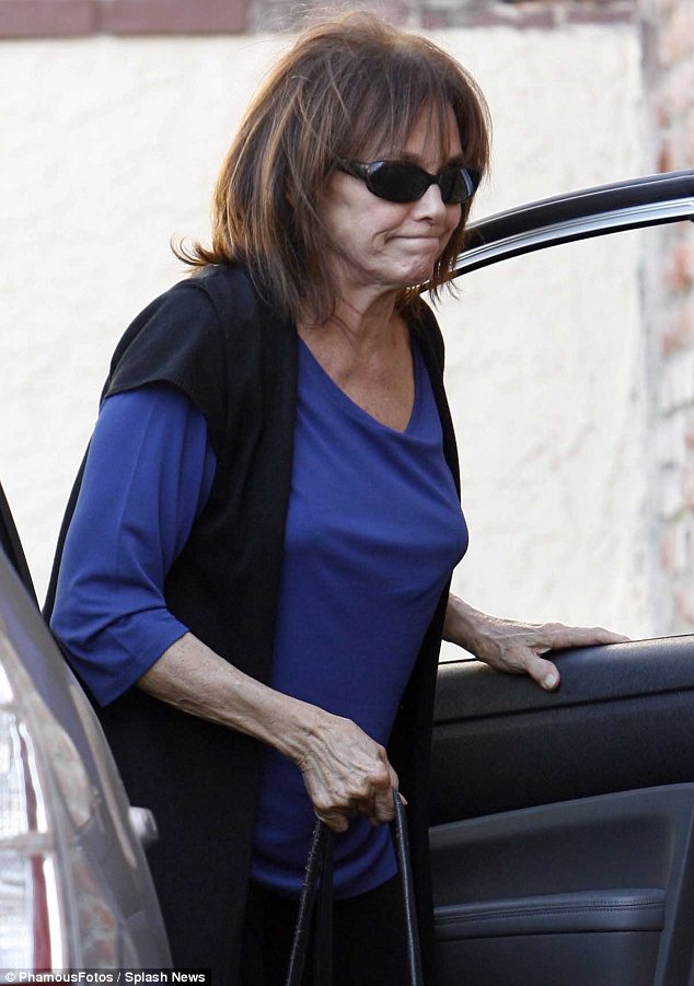 Brave: Valerie Harper is taking part in the show despite her cancer diagnosis and has been put through her paces by Tristan MacManus