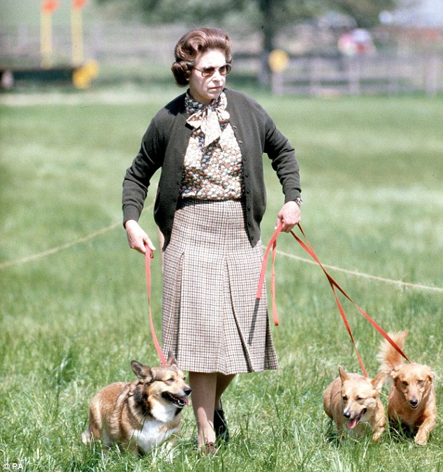 The Queen's beloved corgis are fed a luxury diet of fillet steak and chicken breast cooked by a chef, a new book claims