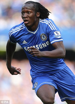 Different: Mourinho insists that new Everton man Romelu Lukaku (left) and Didier Drogba (right) are not the same