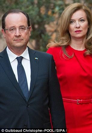 Valérie Trierweiler with Francois Hollande