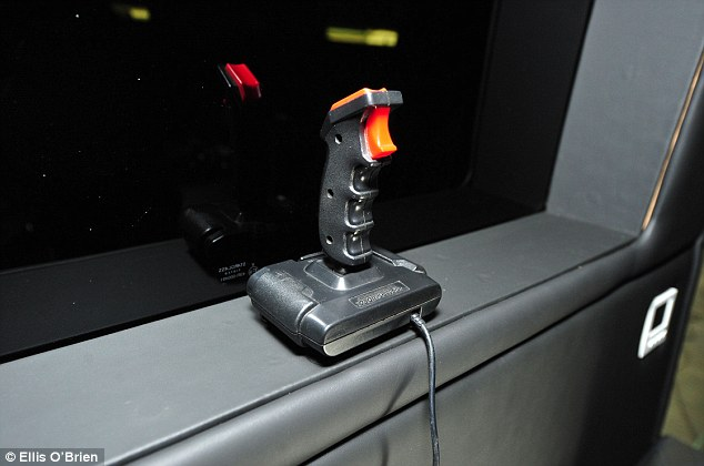 One of the joysticks used by the One Direction boys during their time on the road